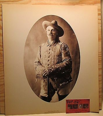 BUFFALO Photographic Print Old Wild West Costume from Cody Wyoming Museum