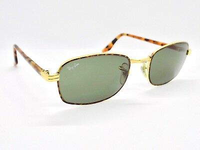 90's B&L Ray Ban Sidestreet Diner Tortuga Square W2190 Sunglasses & case