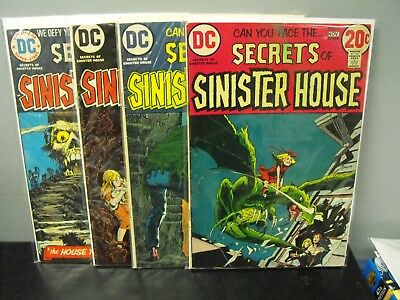 Dc Comics Secrets Of Sinister House Lot (4)
