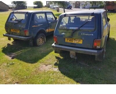 Lada Niva 4x4 barn find rare spares or repair