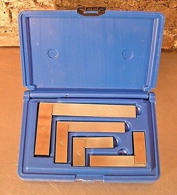 "PEC Workshop Solid Square Set of 4 with  2"", 3"", 4"" and 6"""