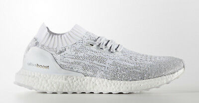 053eccc7494ed ADIDAS ULTRA BOOST Uncaged Triple White Size UK 8 - 12  BY2549 ...