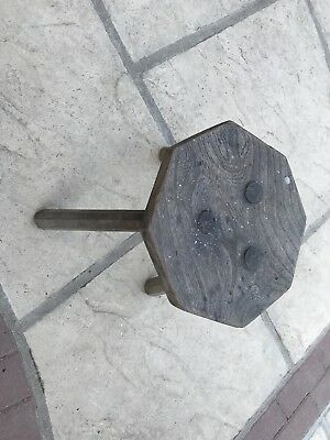 Old Milking Dairy Stool