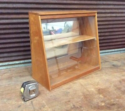 🔥 NICE 1950-60s SMALL COUNTER TOP SHOWCASE DISPLAY CASE General Store COUNTRY