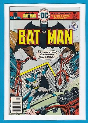 "Batman #275_May 1976_Very Fine+_""game's Over Batman...you Lose""_Bronze Age Dc!"