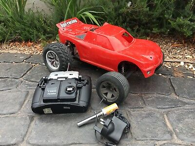 House Clearance Attic Find Rare Hpi Radio Contol Rc Nitro Fuel Project Derby