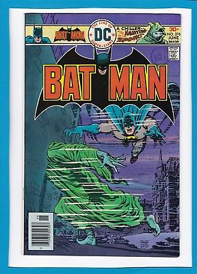 "Batman #276_June 1976_Very Fine+_""the Haunting Of The Spook""_Bronze Age Dc!"
