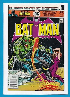 "Batman #277_July 1976_Vg/f_""the Man Who Walked Backwards""_Bronze Age Dc!"