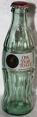 Coca-Cola Flasche USA 1995 leer bottle ACL 8 oz ATLANTA OLYMPICS ONE YEAR TO GO