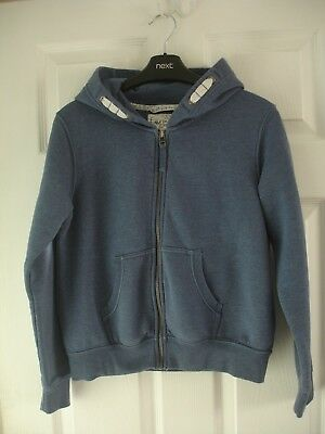 Girls' Next Blue Hooded Tracksuit Top Size 13 Years