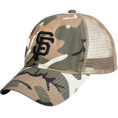 SAN FRANCISCO GIANTS Camo SF Cap 7 8 2018 Baseball SGA Mesh Hat ... 88a60ca9b96