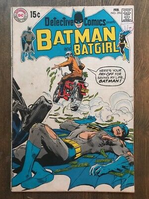 Detective comics #396 - 1970 - VG - Neal Adams Cover