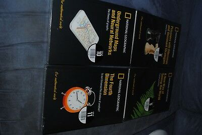 National Geographics Books, Our mathematical world x 4