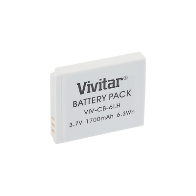 Vivitar NB-6L / NB-6LH Rechargeable Battery (Canon NB-6L / NB-6LH Replacement)