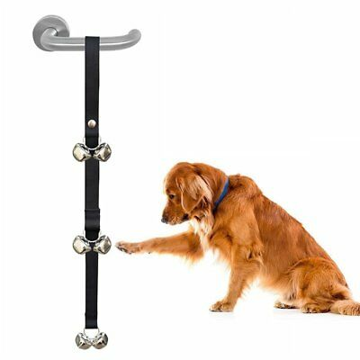 Dog Potty Training Aid Puppy Door Bell Adjustable Pet Toilet Train Doorbell DIY