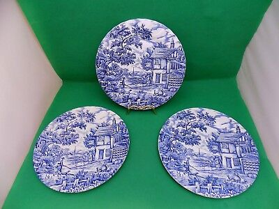 Myott The Hunter Dinner Plates x 3