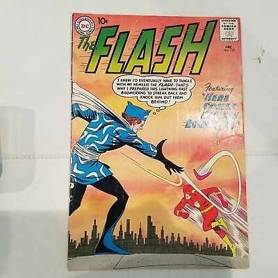 Flash 117 G/VG  HUGE DC SILVER AGE COLLECTION No Reserve