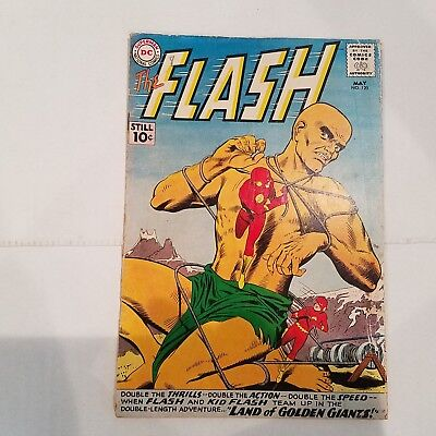 Flash 120 VG   HUGE DC SILVER AGE COLLECTION No Reserve