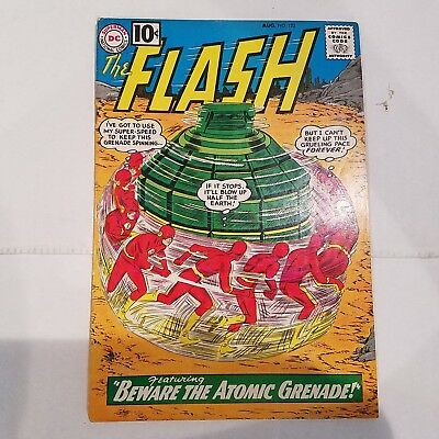 Flash 122 F/VF HUGE DC SILVER AGE COLLECTION No Reserve