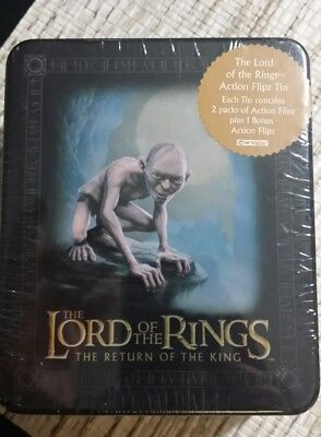 Lord of the Rings Return of the King 2003 Collectible Action Flipz Tin