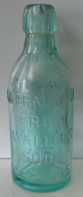I have an antique blob top bottle Walter's Napa County Soda Mineral Water