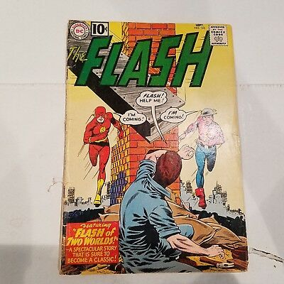 Flash 123 Good+  HUGE DC SILVER AGE COLLECTION No Reserve