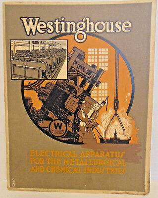 Westinghouse Electrical Apparatus-Metallurgical & Chemical Industries Booklet