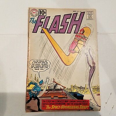 Flash 124 VG-  HUGE DC SILVER AGE COLLECTION No Reserve
