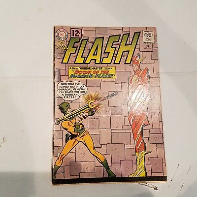 Flash 126 VG/F  HUGE DC SILVER AGE COLLECTION No Reserve