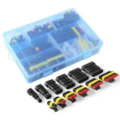 1-6 Pin Way Car Electrical Wire Waterproof Connector Plug Terminal Fuse Case Hot