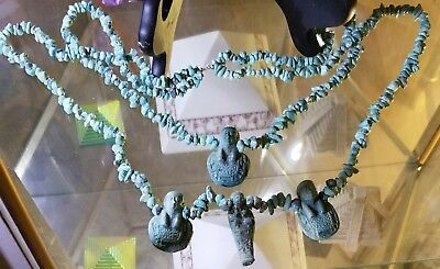 Ancient egyptian antiquities necklace