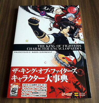 The King Of Fighters Character Encyclopedia Snk Art Book Used W/Obi F/S Import