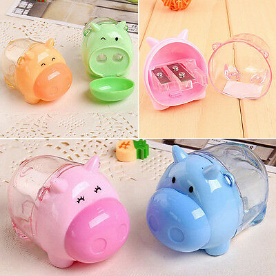 Mini Lovely Cute Pig Mouse Pencil Sharpener For Student Kids Office Stationery