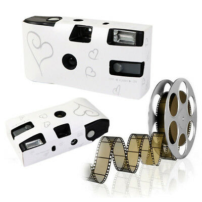 36 Photos Power HD Flash Single Use One Time Disposable Camera Film Party Gifts