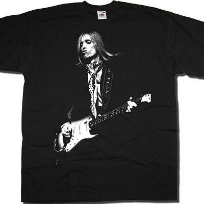 Old Skool Hooligans Rock On Stage Pic T Shirt - Tom Petty Pout