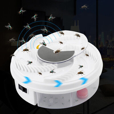 Electric USB Automatic Flycatcher Trap Pest Control Catcher Mosquito Zapper ML1