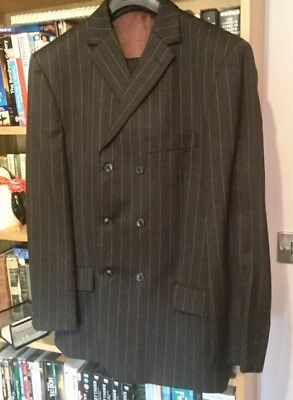 "Goodwood Revival vintage men's suit - 42"" - zoot suit/ demob suit"
