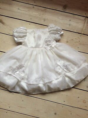 Girls Baptism Dress Gown Flowergirl Party