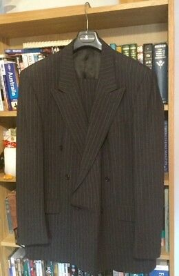 "Goodwood Revival vintage men's suit - 44"" - zoot suit/ demob suit"