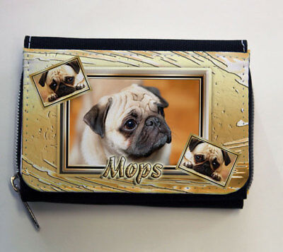 Geldbörsen & Etuis Training & Gehorsamkeit Mops Pug Münze Geldbörse Coin Purse Oder Snackbeutel Or Treat Bag