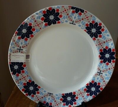 Monsoon Bettie Salad Dessert Side Plate x 1 by Denby *New with Tags*