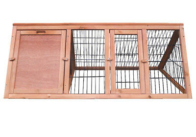 Charles Bentley Frame Wooden Outdoor Portable Rabbit Hutch Guinea Pig Ferret Run