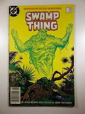 Swamp Thing #37 1st Appearance of Constantine AKA Hellblazer! Fine- Condition!!