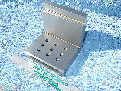 Angle Plate Toolmaker Machinist Hardened Ground #10/32 Inspection Mill Grinder!!