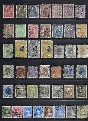 Romania, a collection of over 160 older stamps, mainly used but some UM.