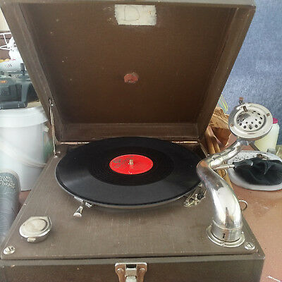 vintage phonograph record player 30% sale