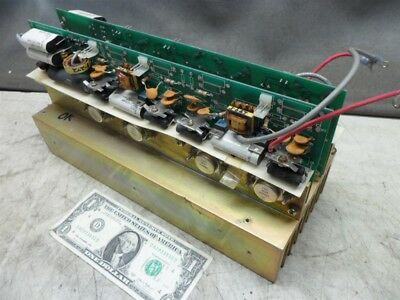 """LARGE ALUMINUM HEAT SINK 12""""x 5"""" x 4"""" GOLD COLOR-UNTESTED ELECTRONIC COMPONENTS"""