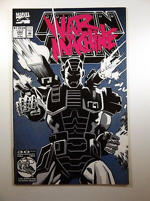 The Invincible Iron Man #282 1st Appearance of War Machine! VF- Condition!!
