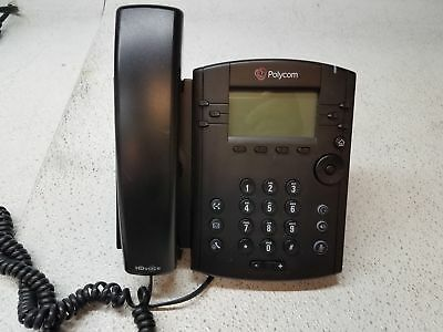 POLYCOM VVX 300 IP Business Media Desktop PoE Phone 2201
