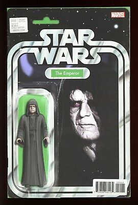 Star Wars   #50   * Variant *  Action Figure   The Emperor    Nm +